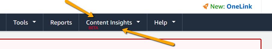 NEW Amazon Insights for bloggers from PotPieGirl
