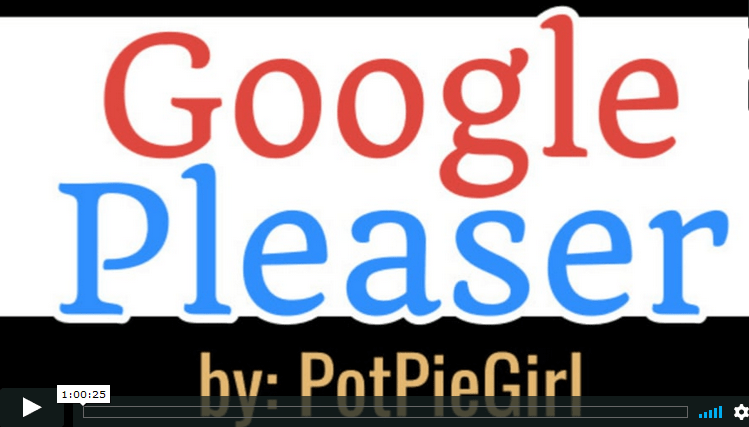 Google Please Keyword System from PotPieGirl