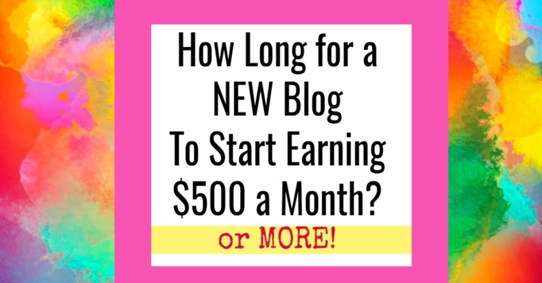 When will my blog make money?