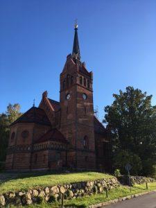 Kaiser-Friedrich-Kirche in Golm