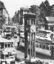 Ampelanlage am Potsdamer Platz