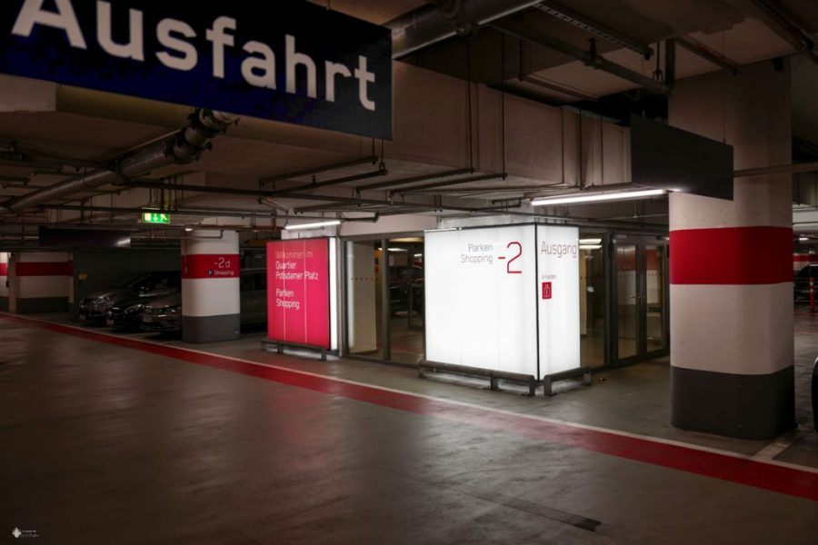 Parkplätze am Potsdamer Platz