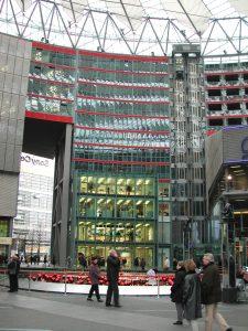 Sony Plaza am Potsdamer Platz 2001