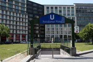 U-Bahnhof Potsdamer Platz 2016