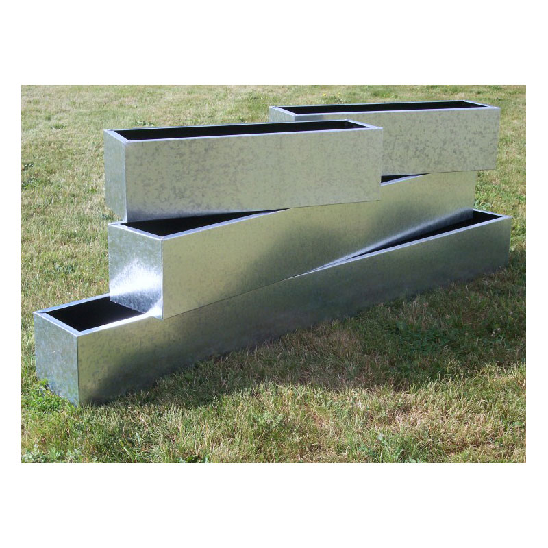 Galvanised Trough Planters Amp Window Boxes From