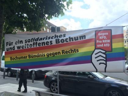 Bochumer Bündnis gegen Rechts: Für ein solidarisches und weltoffenes Bochum