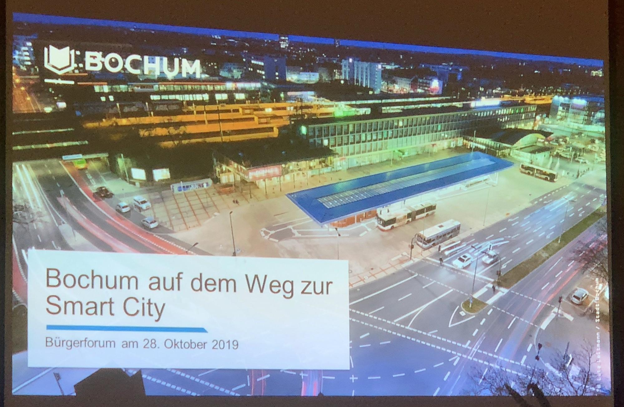 Bochum auf dem Weg zur Smart City: Bürgerforum im Ehrenfeld