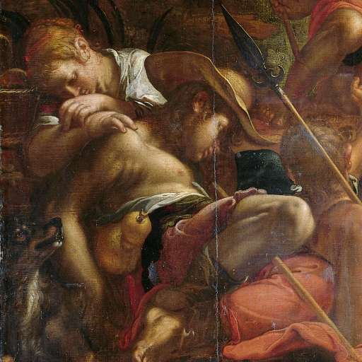 The Christmas Canvas The Annunciation To The Shepherds By Joachim