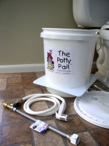 diaper sprayer complete kit. Bucket Pail, Bidet diaper sprayer and bathroom attachments