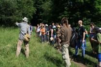 Stanislav Boček popisuje stav jednotlivých stromů