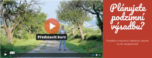 videokurz výsadby ovocných stormů