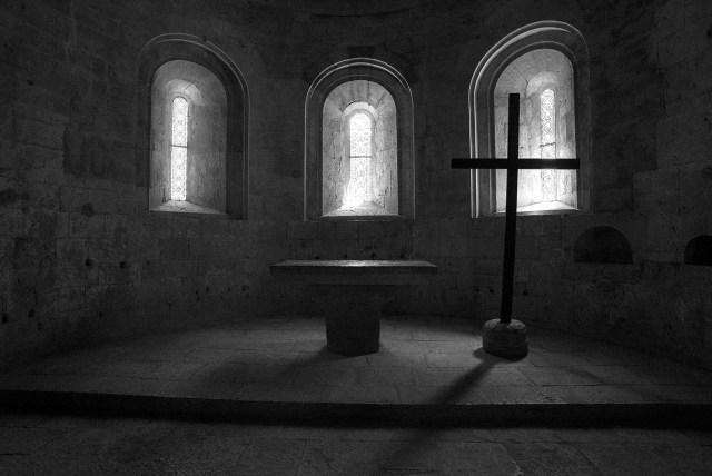 聖堂内部(至聖所)