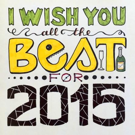 Je vous souhaite tout de bon pour 2015
