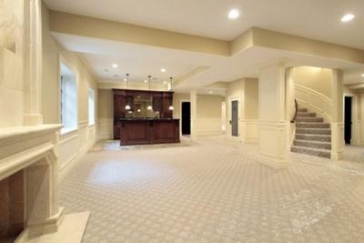 basement floor ideas nm concrete