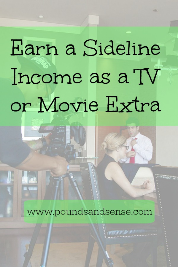 Earn a Sideline Income as a TV or Movie Extra