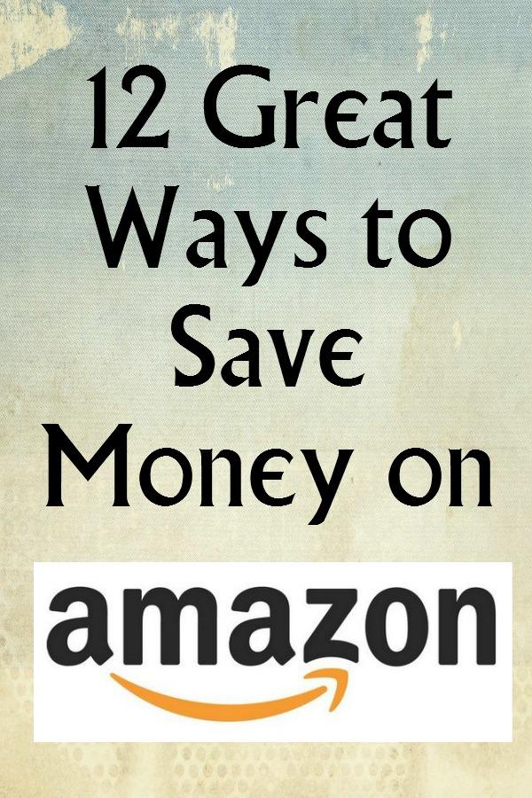 12 Great Ways to Save Money on Amazon