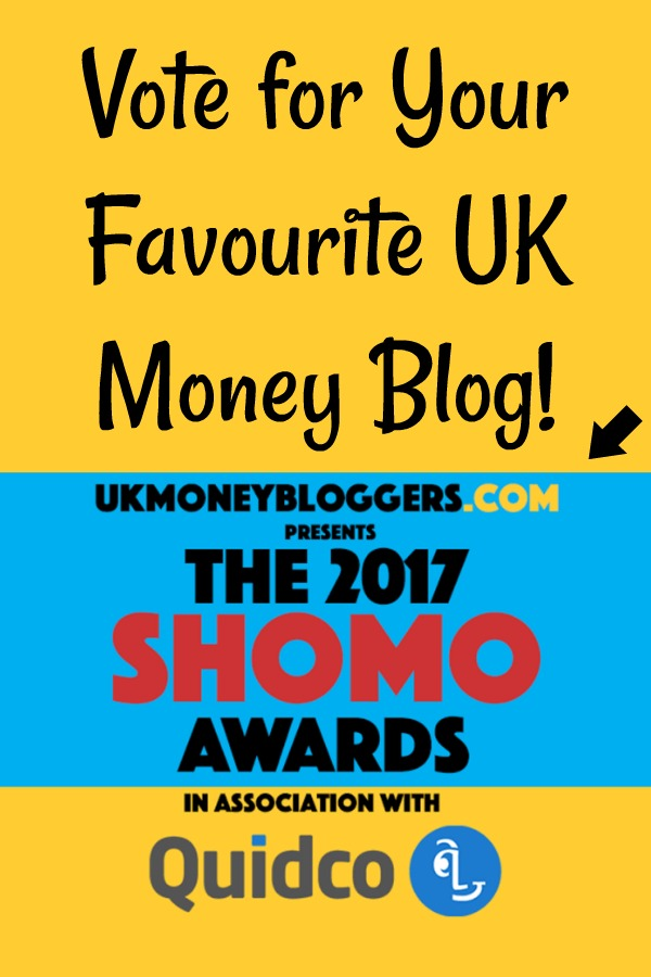 Vote for your favourite UK Money Blog