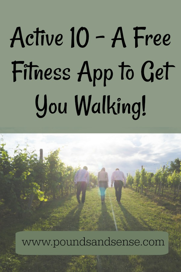 Active 10 - A Free Fitness App to Get You Walking!
