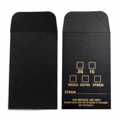 Concentrate Coin Envelopes