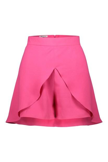 Poupine miniskirt-shorts fuchsia