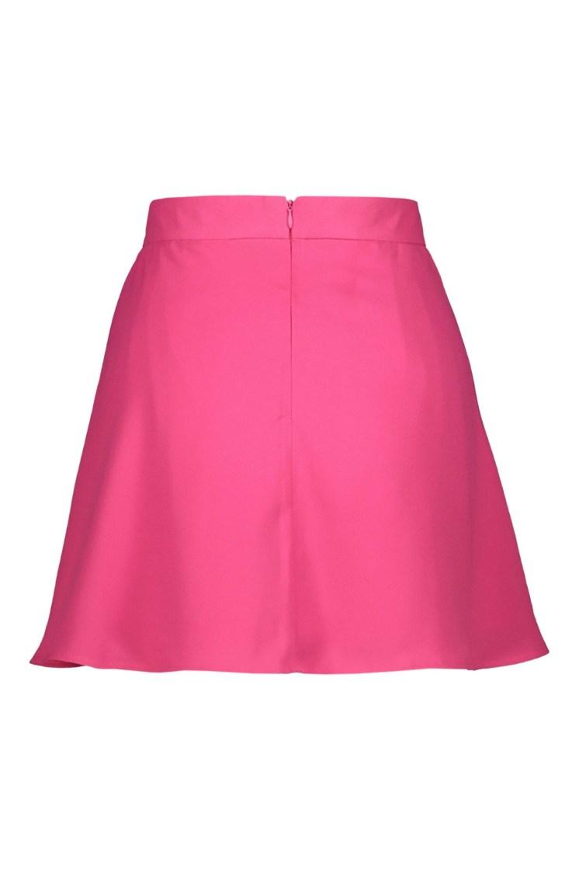 Poupine minigonna-pantaloncino fucsia