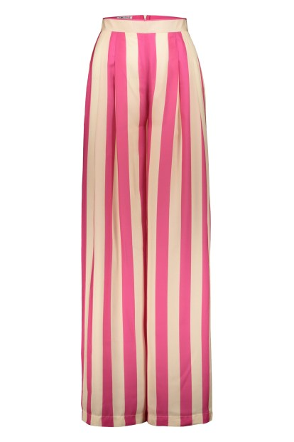 Poupine - Striped trousers fucshia