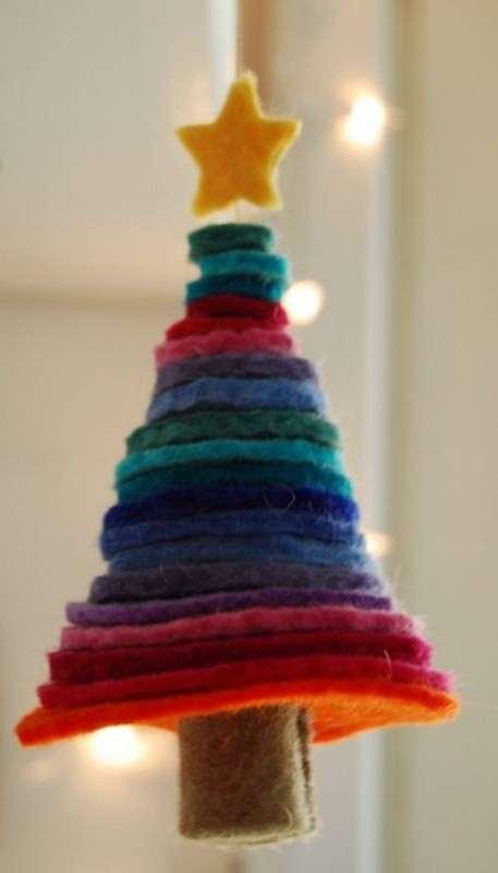 Potreste pensare di creare degli alberi di natale in feltro o pannolenci per. Lavoretti Per Natale Con Il Pannolenci Idee Creative