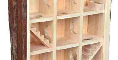 labyrinthe pour hamster, jouer et mettre en forme