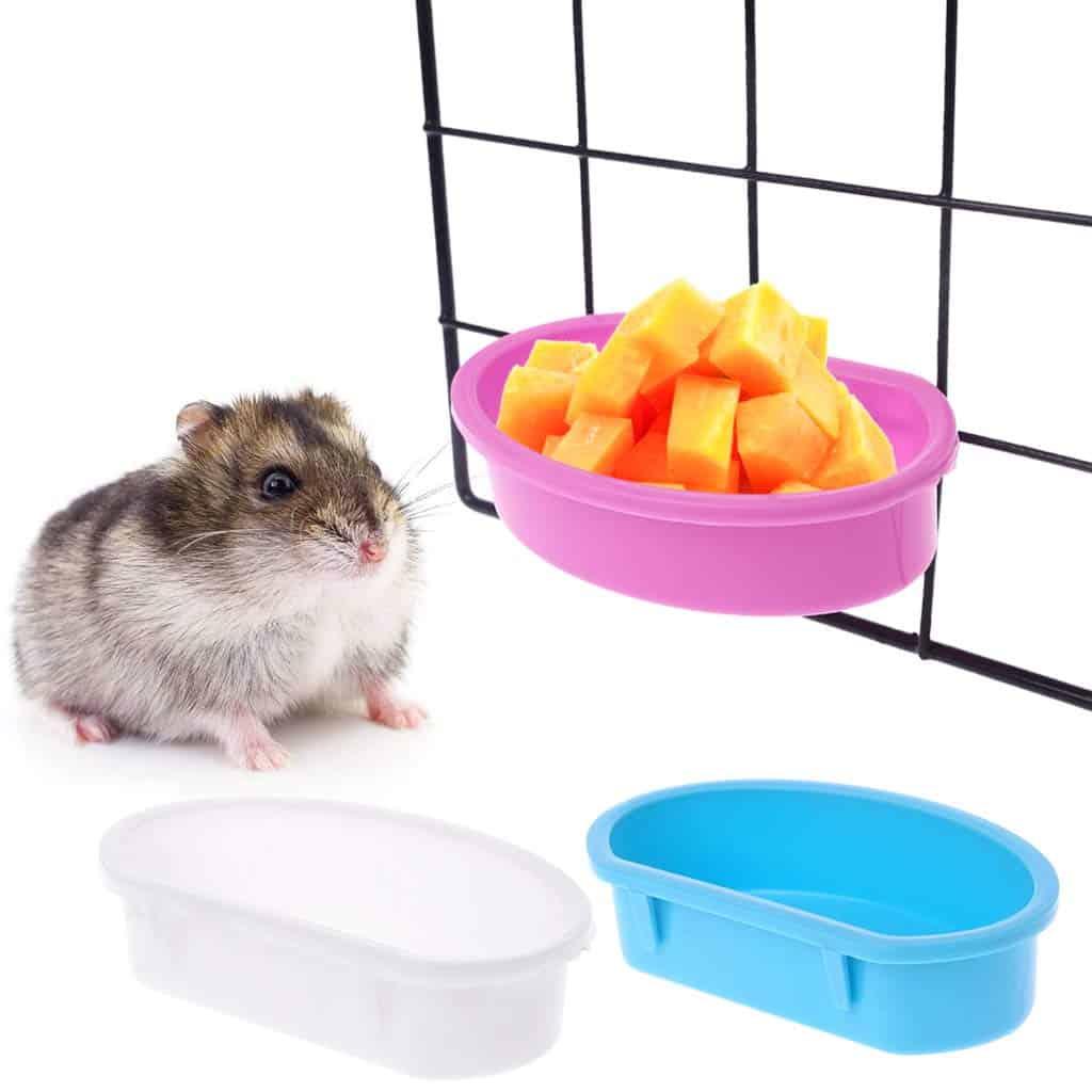 Mangeoire pour rongeur hamster dans la cage