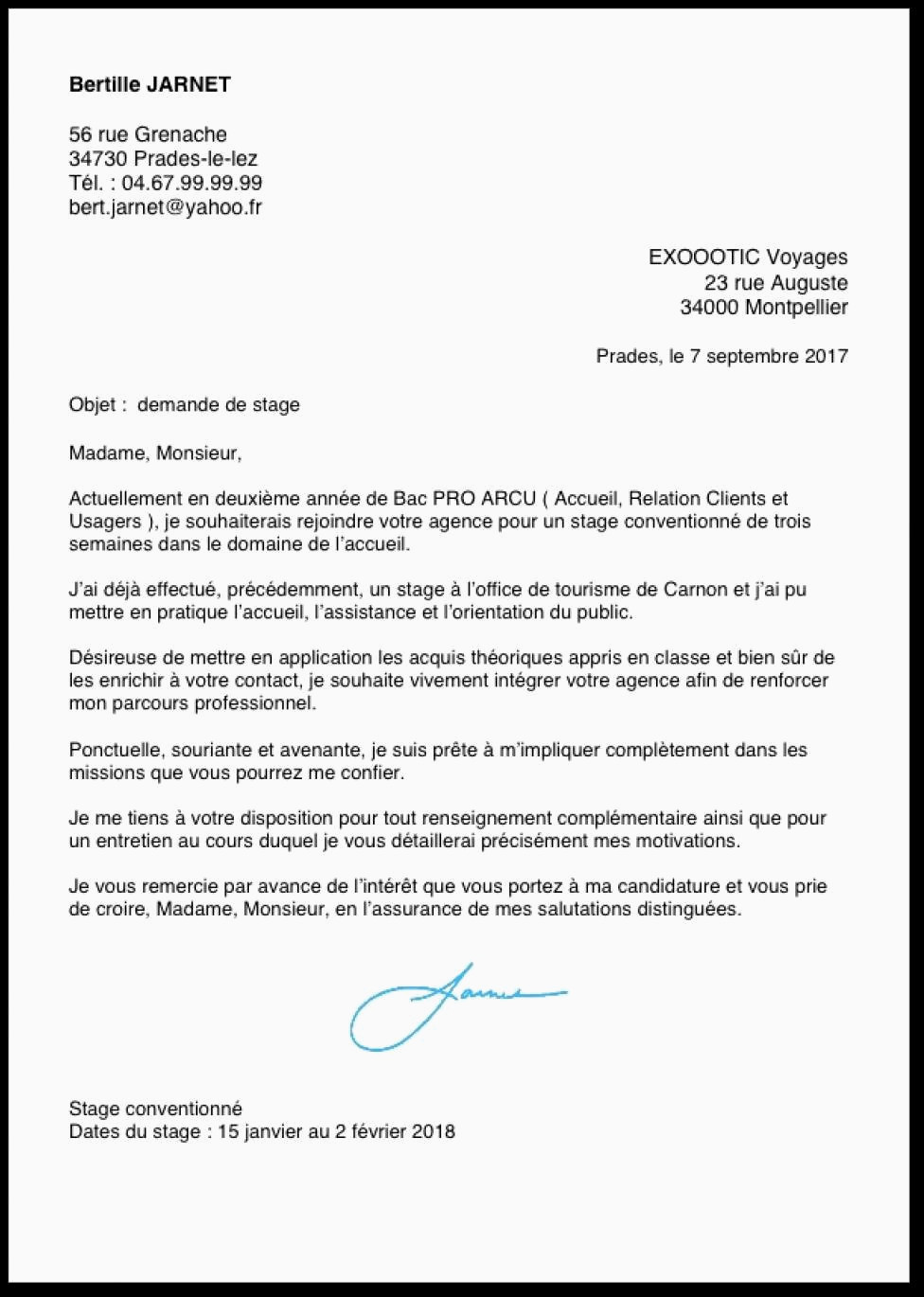 exemple de cv bac pro assp exemple lettre de motivation stage en creche lettre de motivation