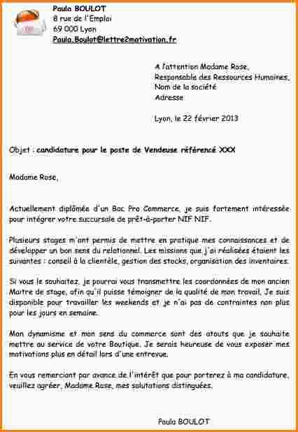 Lettre De Motivation Boulangerie 94 Lettre De Motivation