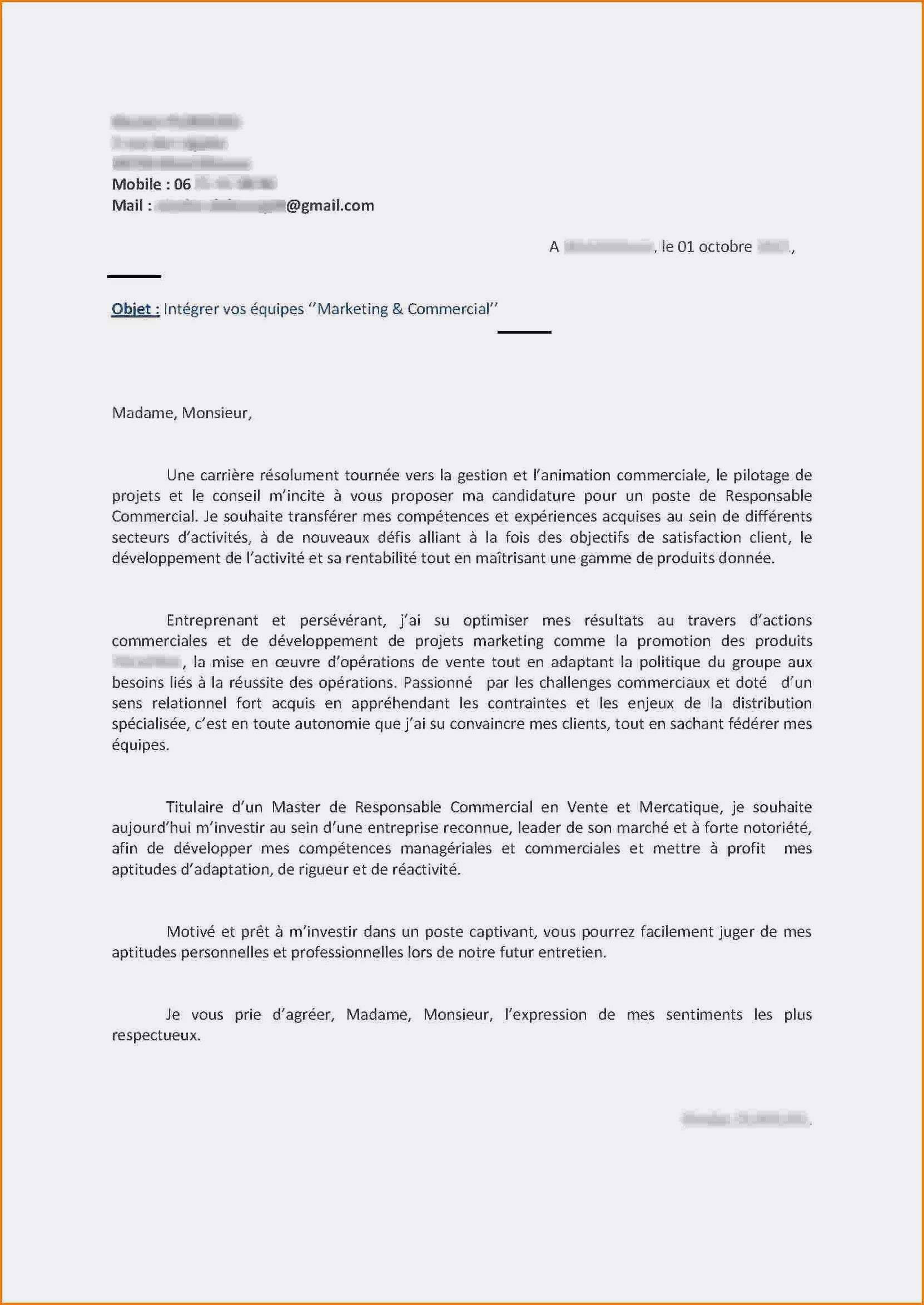 67 Lettre De Motivation Poste Interne