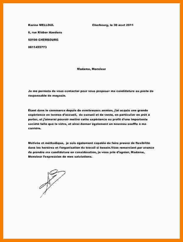 Lettre De Motivation Stage 3eme Commerce 12 Exemple Lettre De Motivation Vendeuse