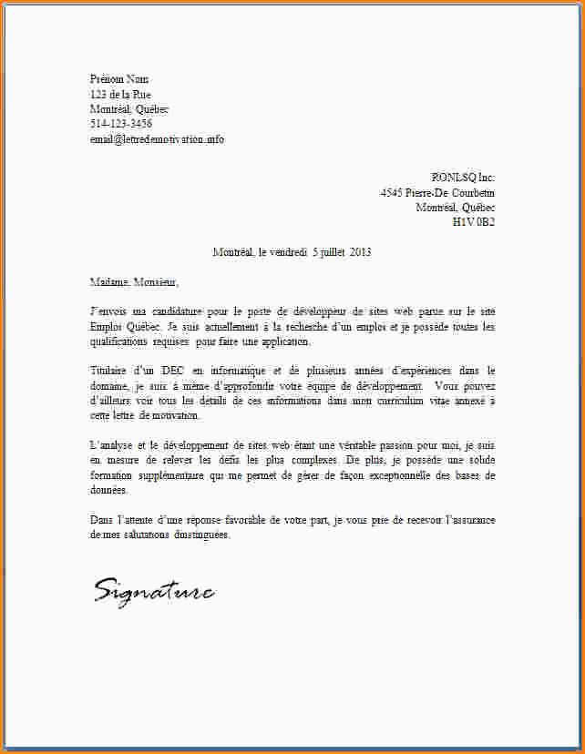 Lettre De Motivation Vendeur Sport 15 Lettre De Motivation Passe Partout Exemple