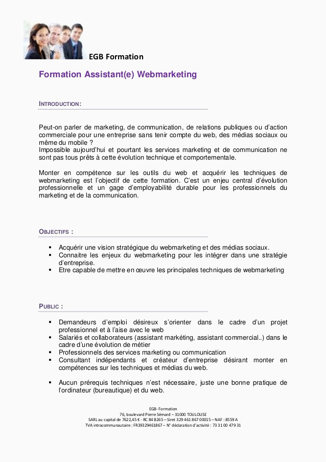 Lettre De Motivation Webmarketing 13 Lettre De Motivation Stage assistant Mercial