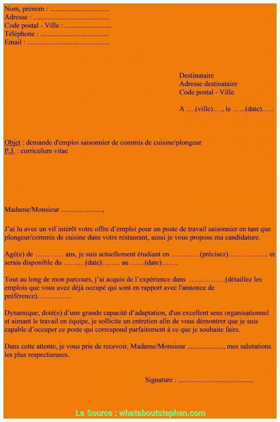 Lettre De Motivation Webmarketing Fre D Emploi Cuisine
