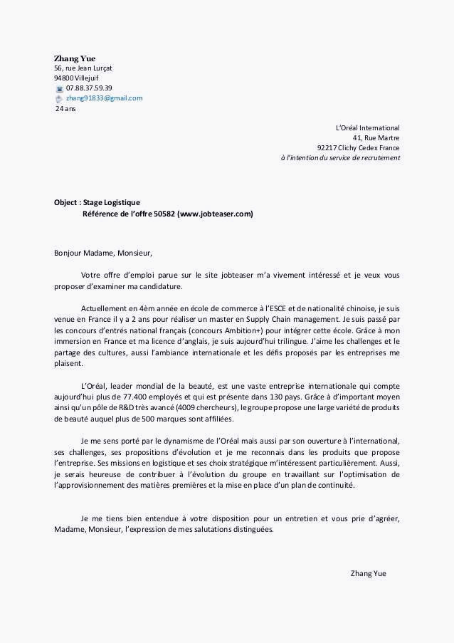 Lettre De Motivation Marketing Unique 13 assistant Mercial Lettre De