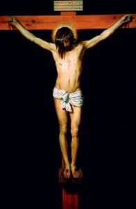 Tableau de Diego Velasquez - Christ crucifié