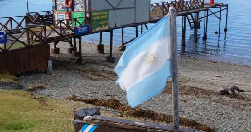 La poste du bout du monde à notre arrivée au parc Tierra del fuego. #tierradelfuego #ushuaia 1