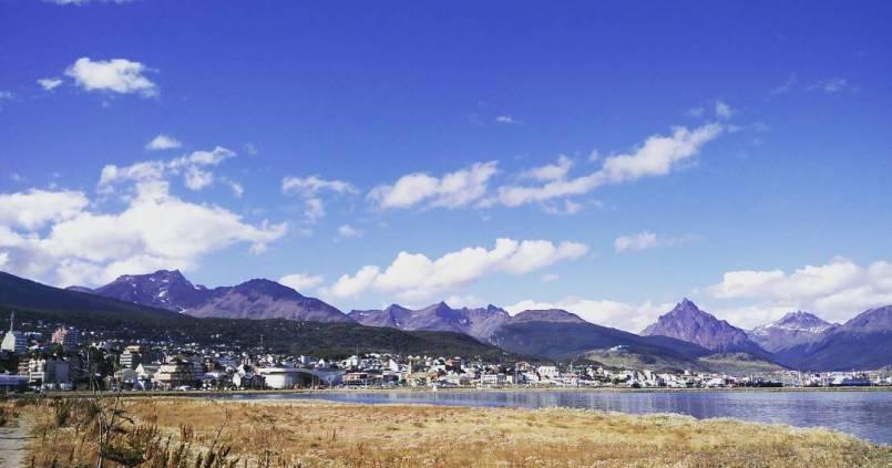 Ushuaia, beau temps, mais froid alors que c'est l'été. 1