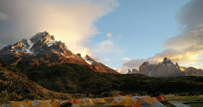 Deuxième réveil, magique. On comprend mieux pourquoi on a fait tout ça... à Torres Del Paine 1