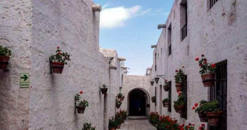 Une ville dans la ville, couvent de Santa Catalina à Arequipa. 1
