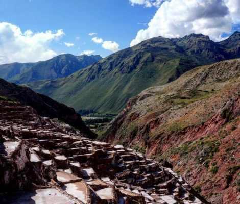 Les terrasses de sel de Maras. 17