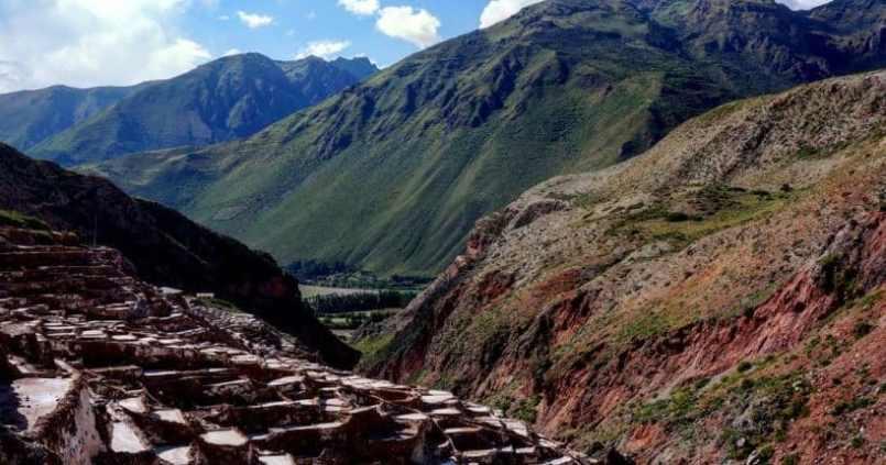 Les terrasses de sel de Maras. 1