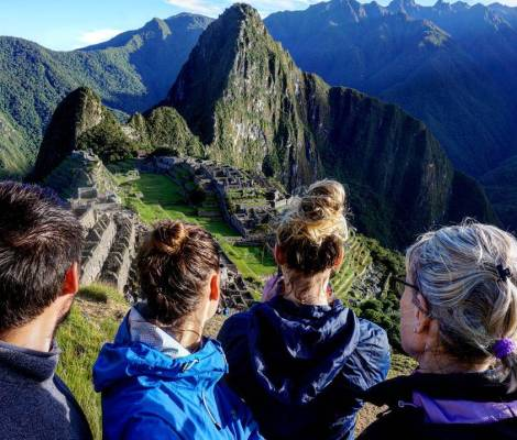 On n'était pas seuls pour profiter du Machu Picchu. 3