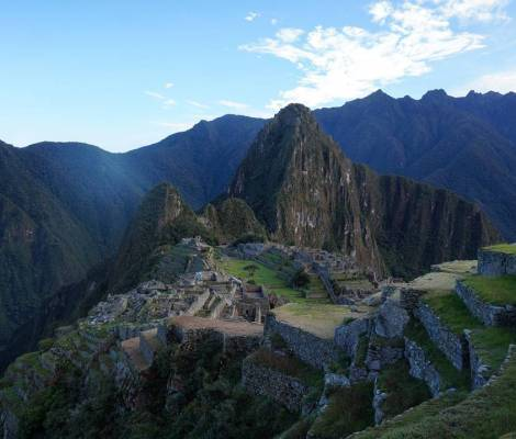 Le Machu Picchu au lever du soleil. 5