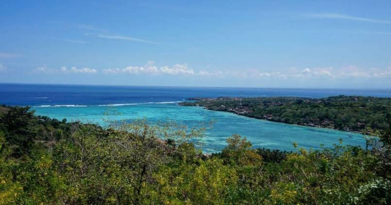 Comme une envie de faire un plongeon dans la piscine XXL entre Nusa Lembongan & Nusa Ceningan 1