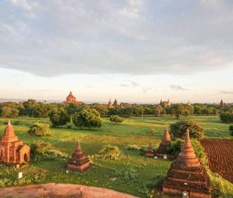 Belle vue de Bagan. 11