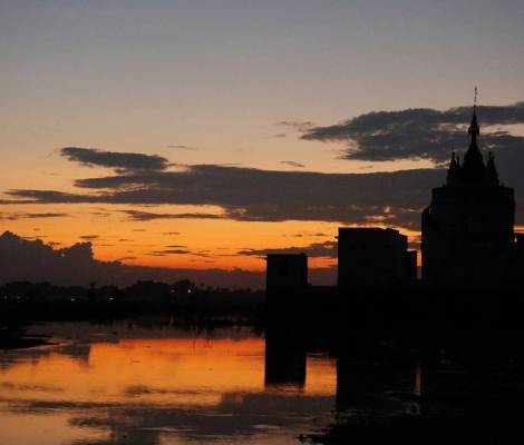 De retour à Mandalay. 2