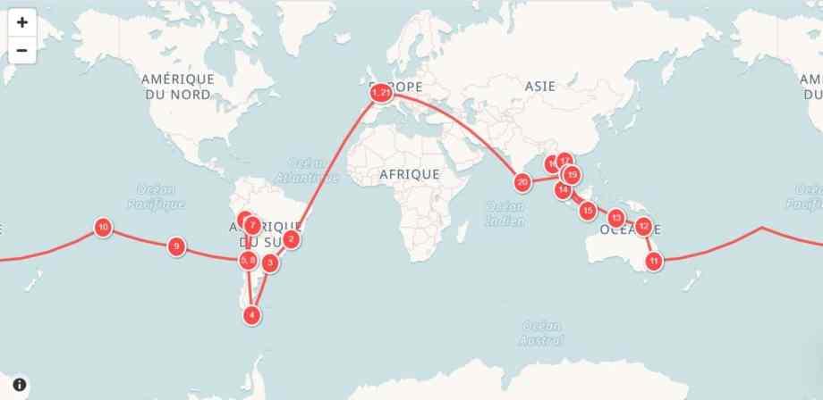 Planifier un itinéraire tour du monde : notre technique 12
